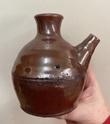 Mashiko? English? Slipware soy pot 17157a10