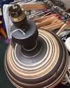 Rod / Rodney Billington, Simonsbath Pottery, Exmoor. RAB and flower mark  1fa2c910