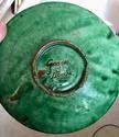 Green glazed plate. Gongora, Ubeda, Spain  37186a10