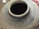 Welsh pottery vase? Stamped Rhondda?  55c51110
