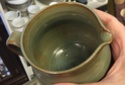 Little green jug in 50s style, European? Australian? Canadian?  615aa810