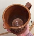 Victorian jug, tree trunk shape - Halifax?  6b514610
