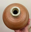 Unmarked wood fired bottle vase 7b7adf10