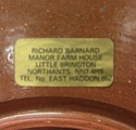 Richard Barnard slipware  9a5fc310
