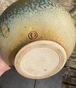 Teapot with impressed shells. tadpole or hook mark: Reid Ozaki, USA  A78e1410