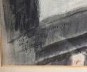 Watercolour, St Pierre, 1930 - signature?  B2255a10
