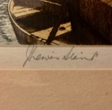 J. Lewis Stant , 2 Artist Proof Etchings B79cc110