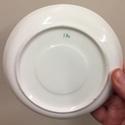 19thC tea cup and saucer  D8787310