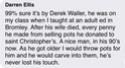 STONEWARE CHARGER WITH SGRAFFITO DOVE dw mark - Derrek Waller D87e5210