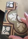 19thC Encaustic tile by William Godwin, Lugwardine Hereford  F1976310