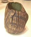 Mystery pleated textured vase, SB mark Img_1814