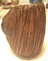 Mystery pleated textured vase, SB mark Img_1815