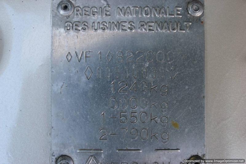 Numero de serie Renaul11