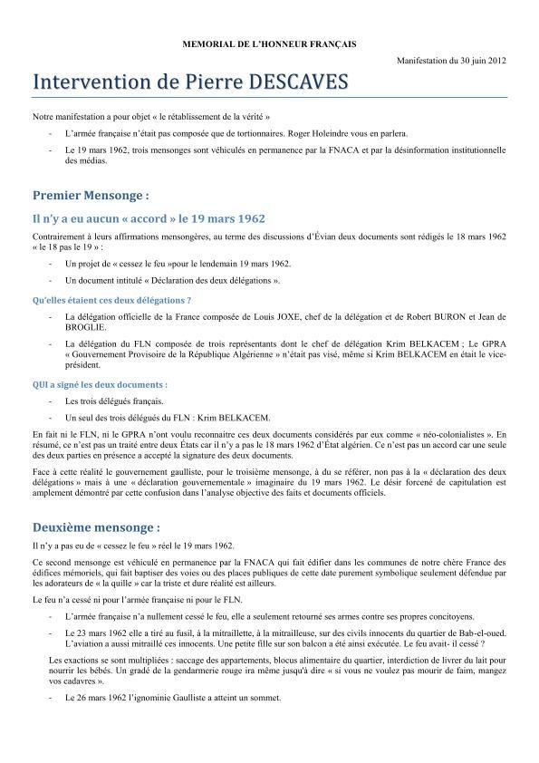 Mémoire et vérité sur le 19 mars 1962 2012_021