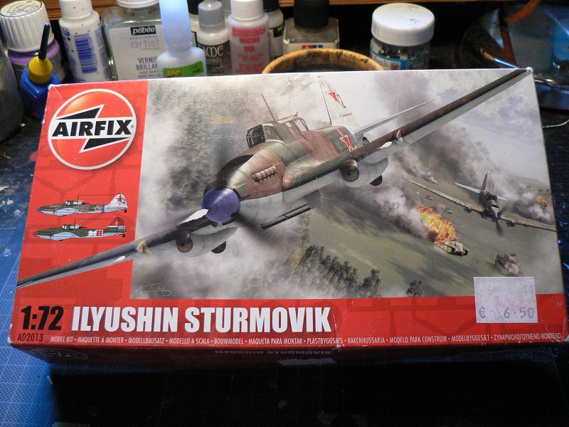 [VINTAGE] [Airfix] IL-2 Sturmovik 0-111