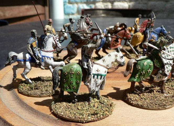 Tuto : peinture de figurines historiques ==> 3 Scott's Grey d'Italeri A-110