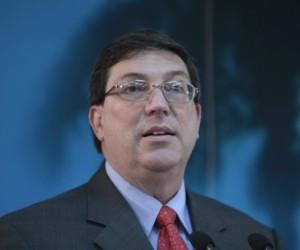 Canciller cubano llega a Naciones Unidas Bruno-10