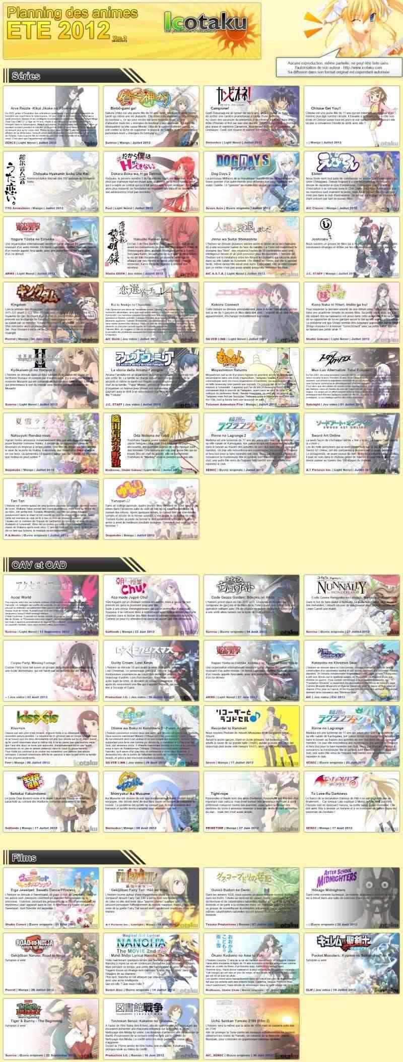 sorties animes été 2012  Summer10