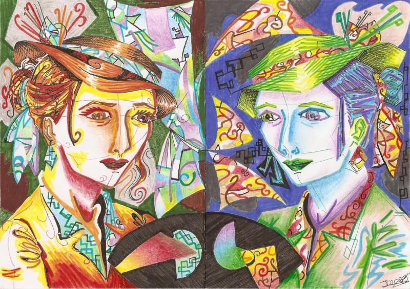 La Caverne de Jeannie ~ peintures, dessins, infographies Portra10