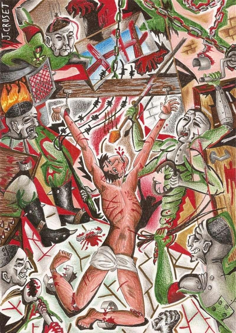 La Caverne de Jeannie ~ peintures, dessins, infographies Tortur10