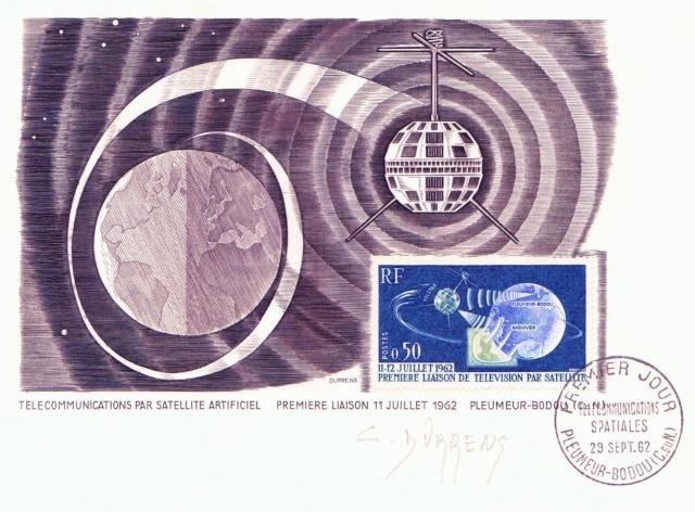 10 juillet 1962 - Telstar -Lancement du premier véritable satellite de communication 1962_010