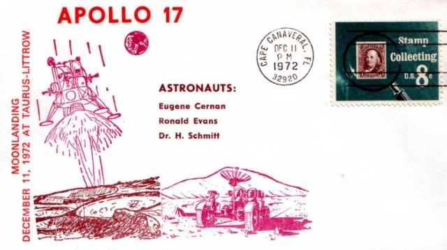Apollo 17 et la philatélie 1972_111