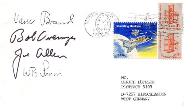 STS-5 Columbia - 11 au 16 novembre 1982 - Première mission navette opérationnelle 1982_111