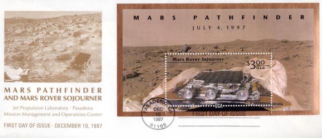 15ème anniversaire de l'arrivée de Mars Pathfinder et de Sojourner sur Mars - 4 juillet 1997 1997_110
