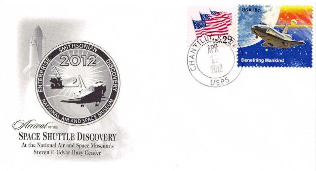 La navette Discovery arrive au Udvar-Hazy Air and Space Museum de Chantilly 2012_010