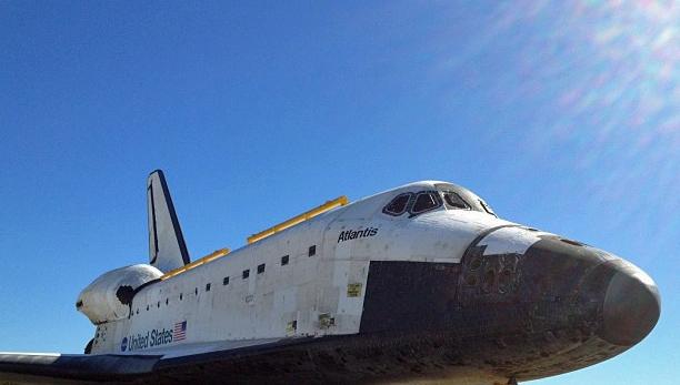 Les navettes spatiales Atlantis et Endeavour au musée 20610