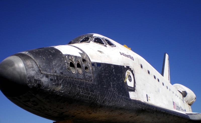Les navettes spatiales Atlantis et Endeavour au musée 209a10