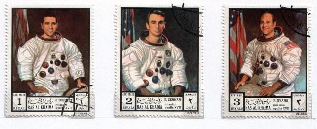 Apollo 17 et la philatélie Apollo33