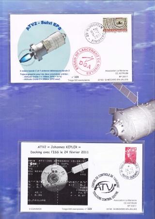 Enveloppe ayant voyagé à bord de l'ATV-2 Johannes Kepler, de l'ISS et de la navette Atlantis / STS-135  Atv_2_12