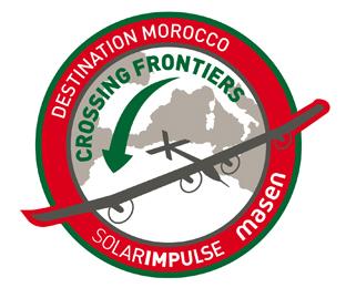 Solar Impulse - 1er vol au-dessus du désert entre Rabat et Ouarzazate Badge_10