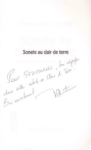 Les livres écrits par Jean-Loup Chrétien (ou en collaboration avec) Chreti11