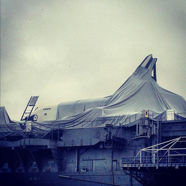 Ouragan Sandy - Cote Est des Etats-Unis touchée Enterp10