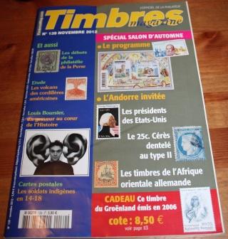 Timbres Magazine - Astrophilatélie et Apollo 11 - Numéro de novembre 2012 Img_2315