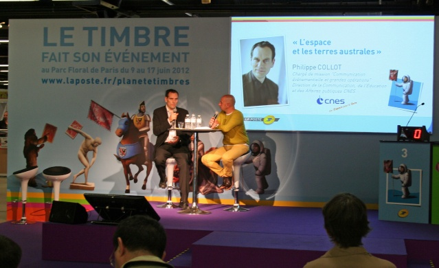 L'espace à l'honneur : Planète Timbres 9 au 17 juin 2012 au Parc Floral de Paris Img_6712