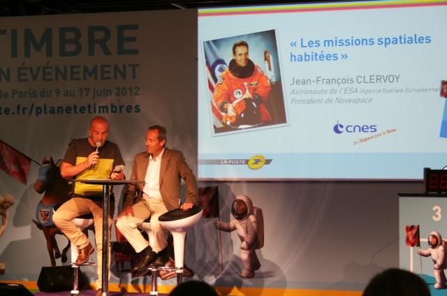 Conférence de Jean-François Clervoy à Planète Timbres le 13 juin 2012 Img_6718