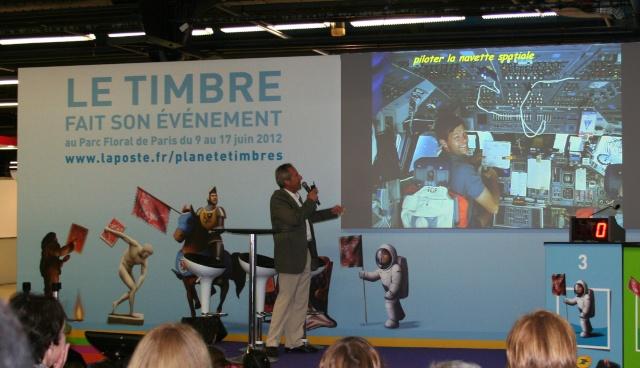 Conférence de Jean-François Clervoy à Planète Timbres le 13 juin 2012 Img_6720