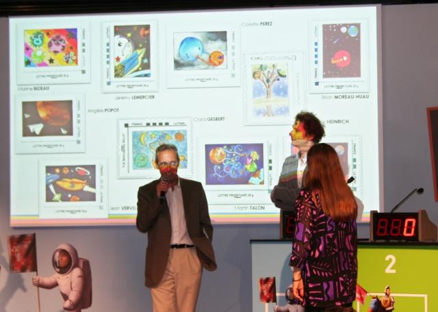 Concours Un Timbre pour Mars - Révélation du timbre et du gagnant Planète Timbres Mercredi 13 juin 2012 Img_6811