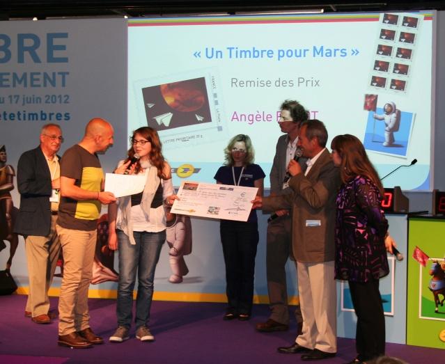 Concours Un Timbre pour Mars - Révélation du timbre et du gagnant Planète Timbres Mercredi 13 juin 2012 Img_6813