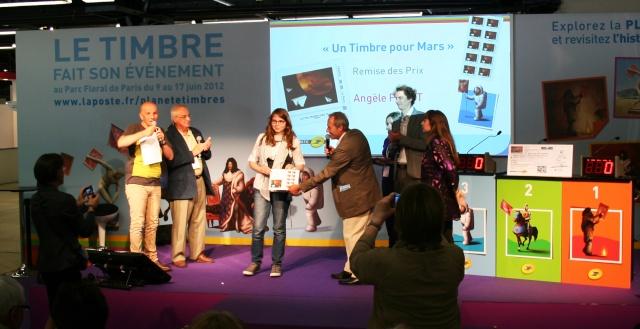 Concours Un Timbre pour Mars - Révélation du timbre et du gagnant Planète Timbres Mercredi 13 juin 2012 Img_6814