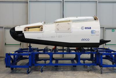 L'ESA annonce que le prototype IXV vient de franchir une étape importante Ixv_in10