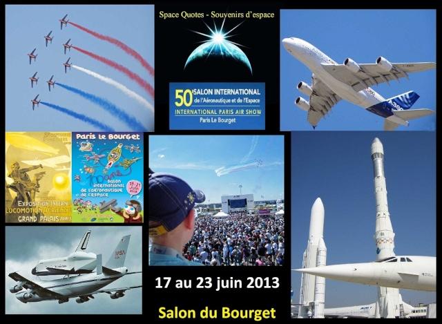 50ème Salon International de l'Aéronautique et de l'Espace - 17 au 23 juin 2013 - Le Bourget Logo_s10