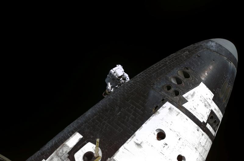 L'astronaute américain Stephen Robinson prend sa retraite S114e610