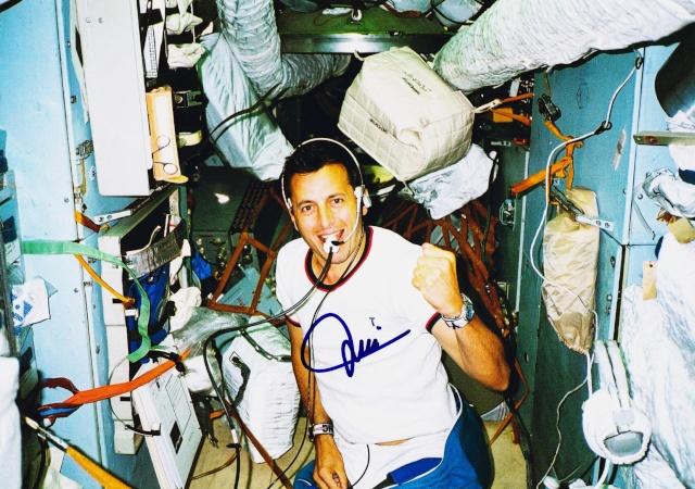 20ème anniversaire du vol de Michel Tognini Soyouz TM-15 Antares Soyouz17