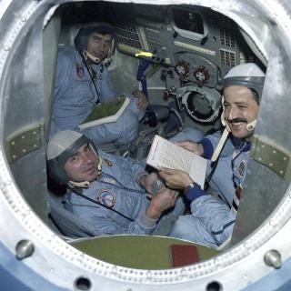 25ème anniversaire du premier syrien dans l'espace - Mohammed Faris Soyuz-11