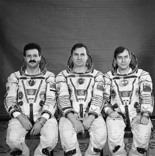 25ème anniversaire du premier syrien dans l'espace - Mohammed Faris Soyuz-12