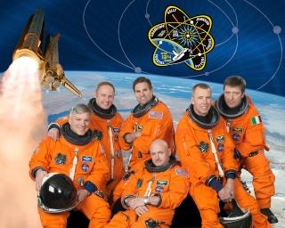25 juillet 2012 - Rencontre avec l'équipage STS-134 au CERN à Zurich Sts-1311